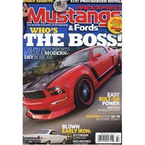 Modified Mustangs and Fords